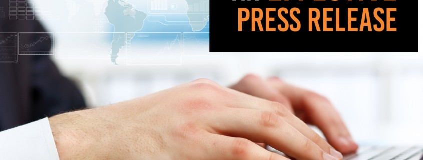 Write an Effective Press Release