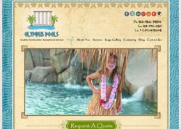 Olympus Pools Tampa Website