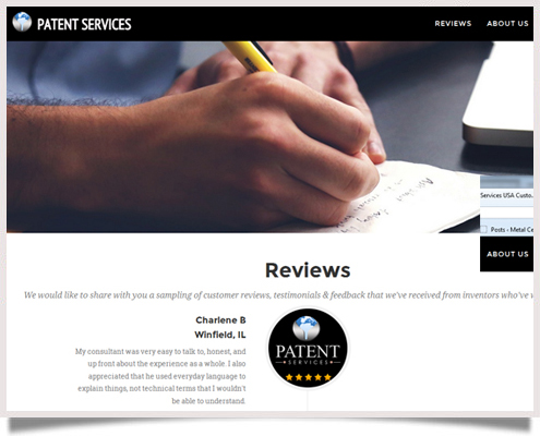 Patent Services USA Reviews Website