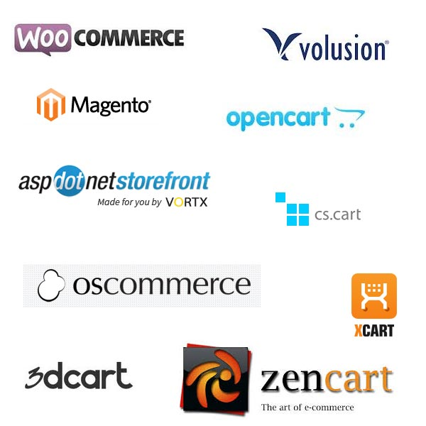 Arnima - ECommerce - Shopping Cart Collage