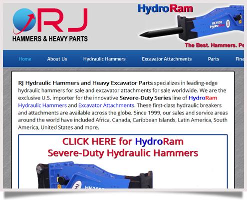 RJ Hammers Website