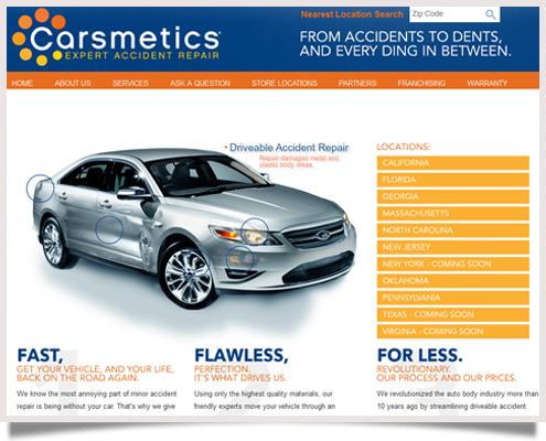 Carsmetics Website