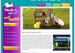 Dawggie Go Pak Website