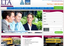 LTA Logistics Website