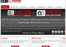 MCS Valuations Website