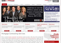 Mortgage Contracting Services Website