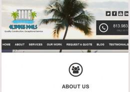 Tampa Pool Builders Website
