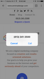 Arnima - Click To Call iPhone